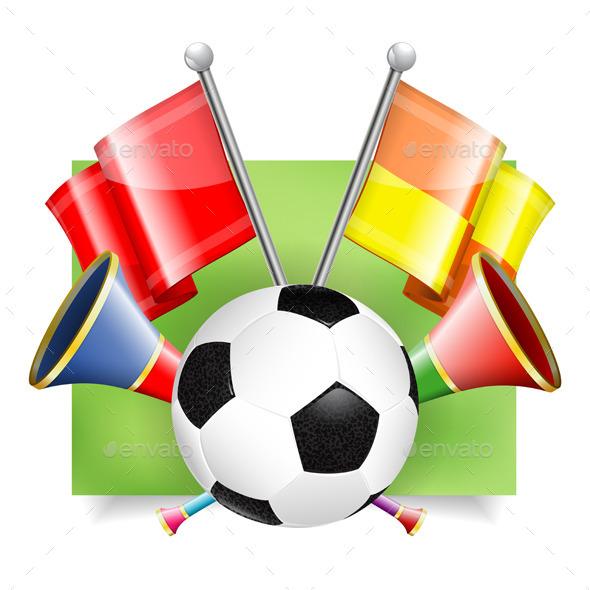 Soccer Banner - Sports/Activity Conceptual