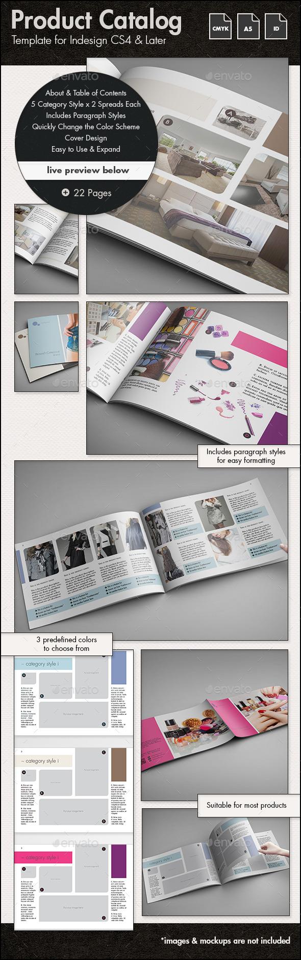 Product Catalog - A5 Landscape - Catalogs Brochures