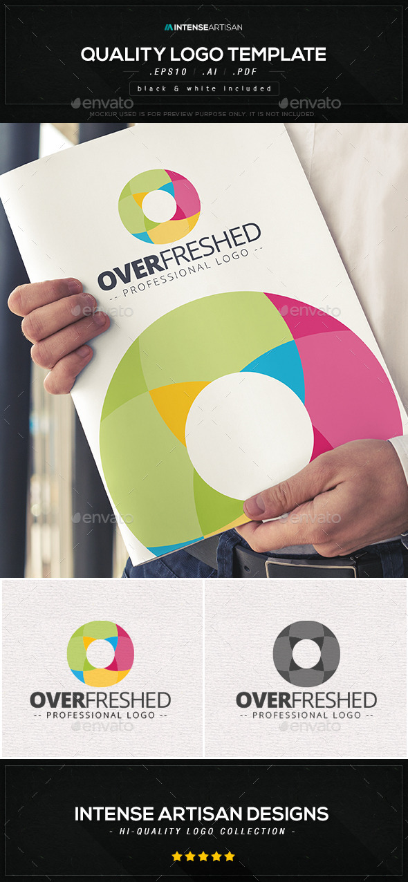 Overfreshed Logo Template - Abstract Logo Templates
