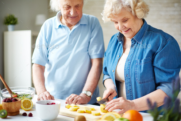 Fruits for breakfast - Stock Photo - Images