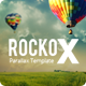 RockoX - One Page Parallax Joomla Virtuemart Template - ThemeForest Item for Sale