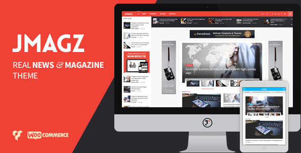 JMagz – Tech News Review Magazine WordPress Theme