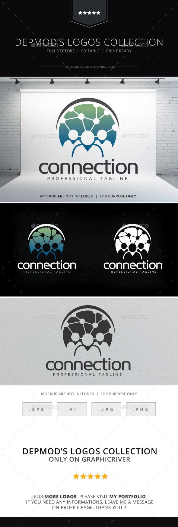 Connection Logo - Humans Logo Templates