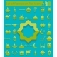 Set of Ramadan Flat Icons - GraphicRiver Item for Sale