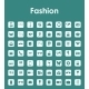 Set of Fashion Simple Icons - GraphicRiver Item for Sale