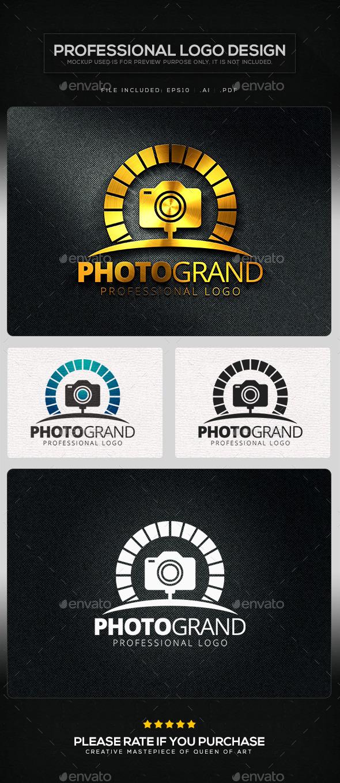 Photo Grand Logo Template - Objects Logo Templates