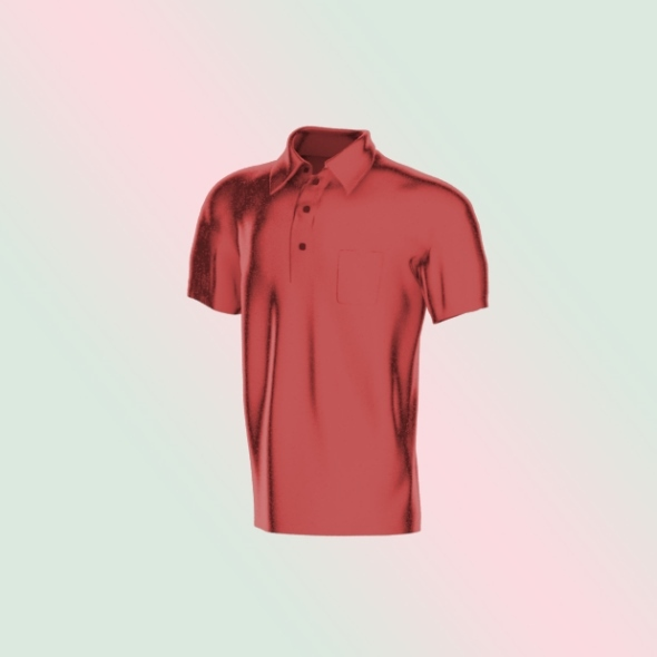 Shirt_Collar_Pocket - 3DOcean Item for Sale