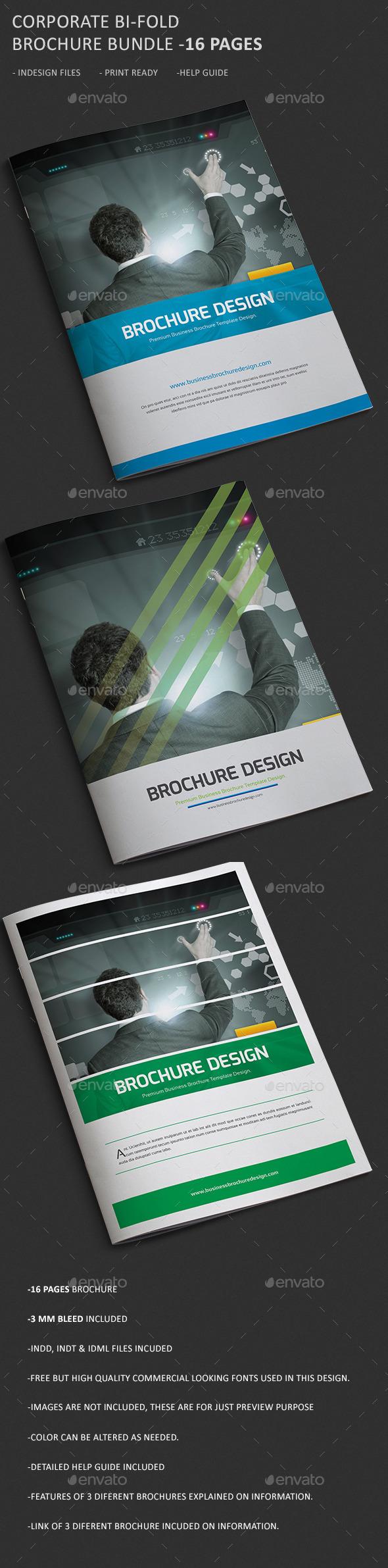 Corporate Business Brochure Bundle. - Corporate Brochures