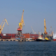 A Cargo Cranes In The Port - VideoHive Item for Sale