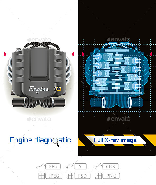 Engine Diagnostic Full X-ray - Services Commercial / Shopping