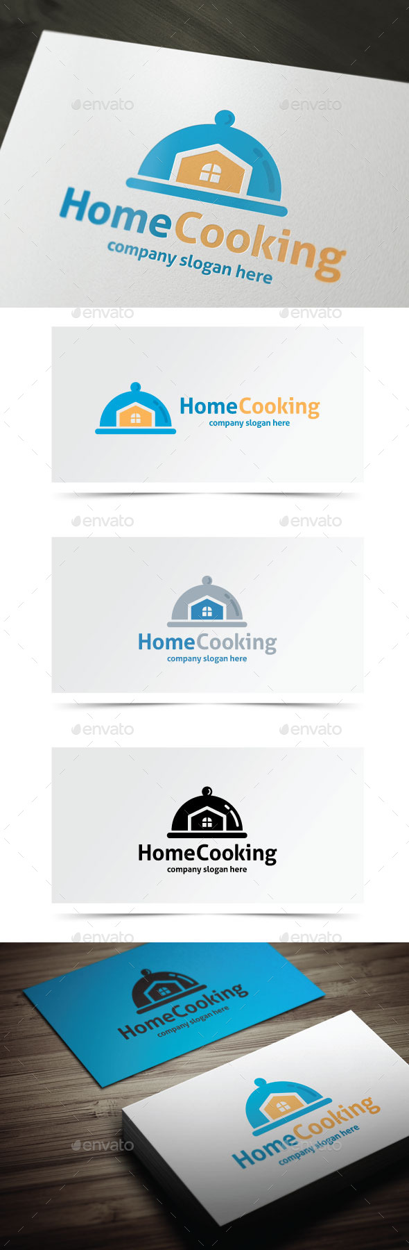 Home Cooking - Objects Logo Templates