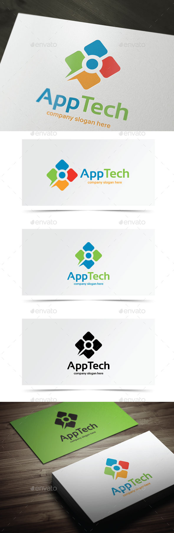 App Tech - Symbols Logo Templates