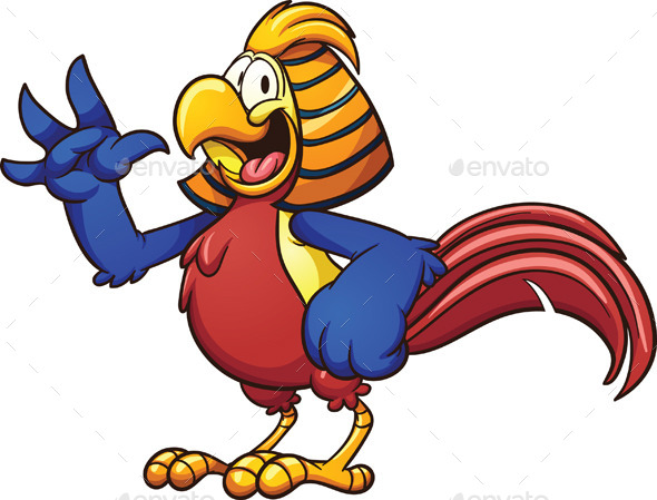Golden Pheasant - Animals Characters