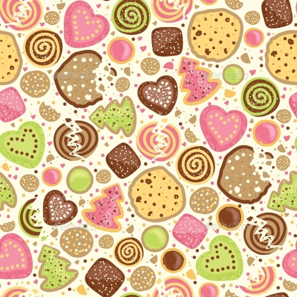 Cookies Pattern  - Birthdays Seasons/Holidays