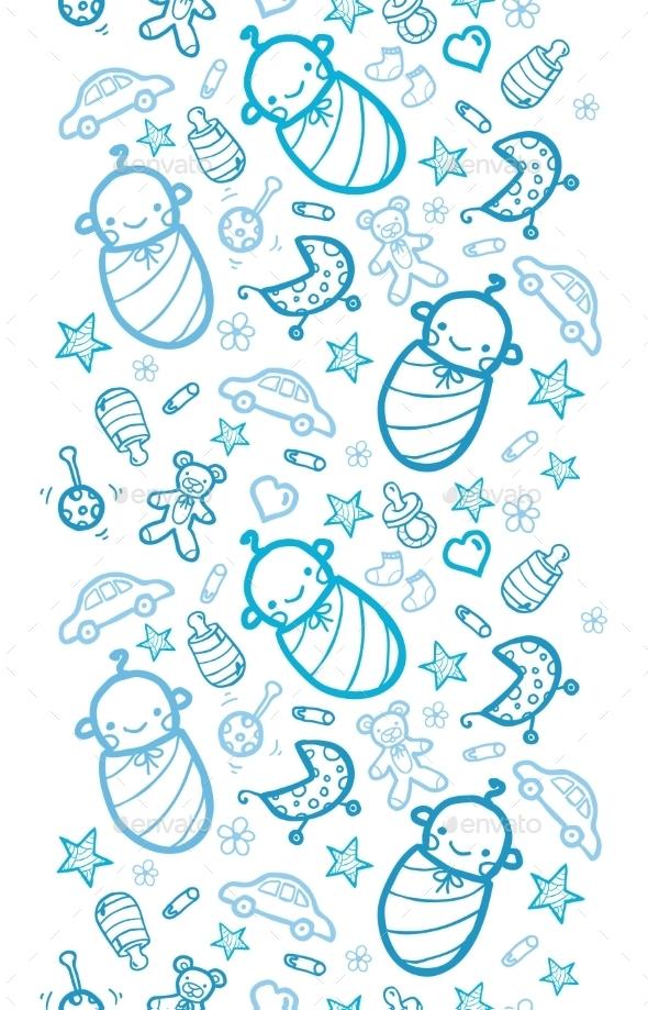 Baby Pattern  - Decorative Symbols Decorative