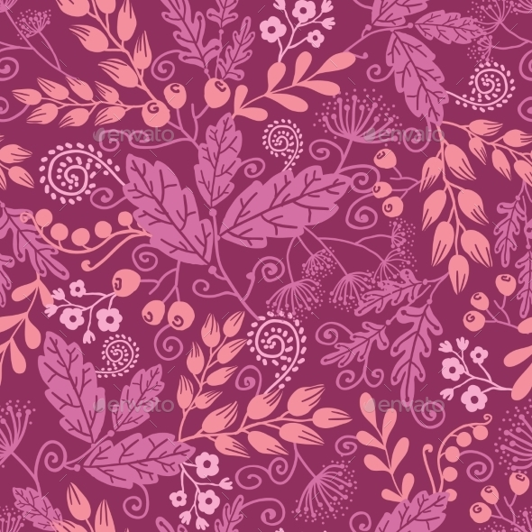 Garden Pattern  - Flowers & Plants Nature