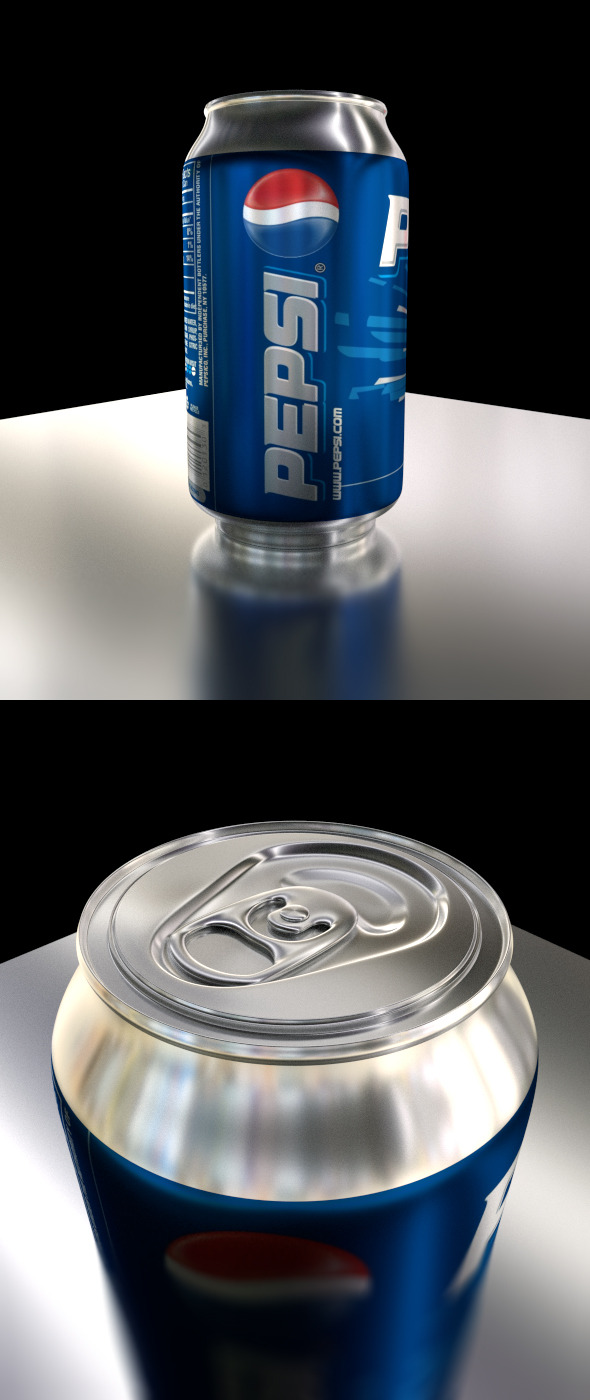 Customizable Soda Can - 3DOcean Item for Sale