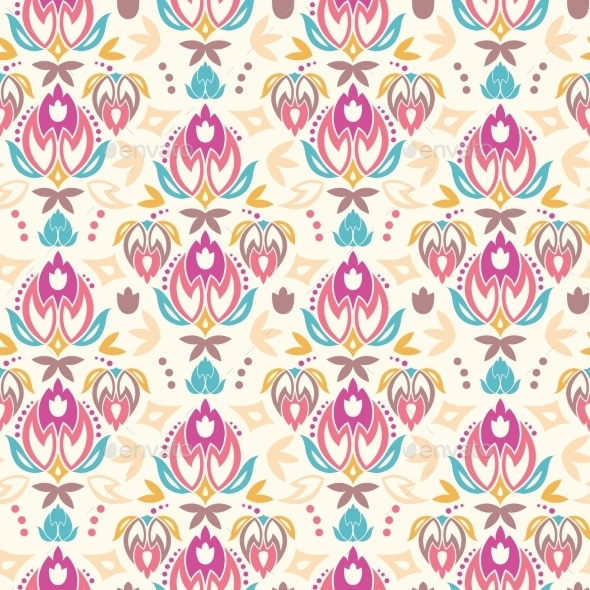 Tulip Pattern  - Patterns Decorative