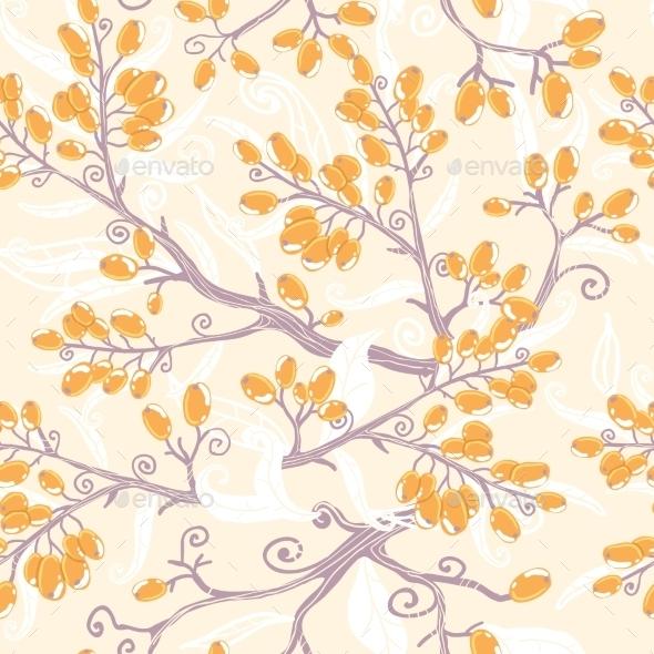 Berries Pattern  - Flowers & Plants Nature