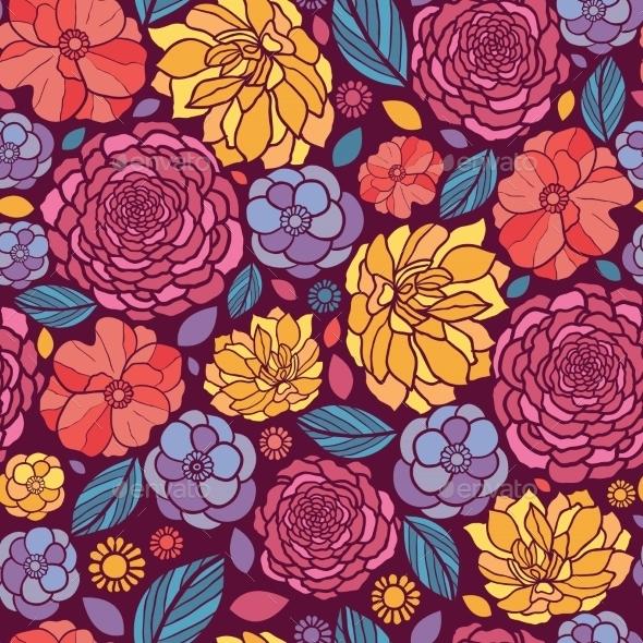 Summer Pattern  - Flowers & Plants Nature