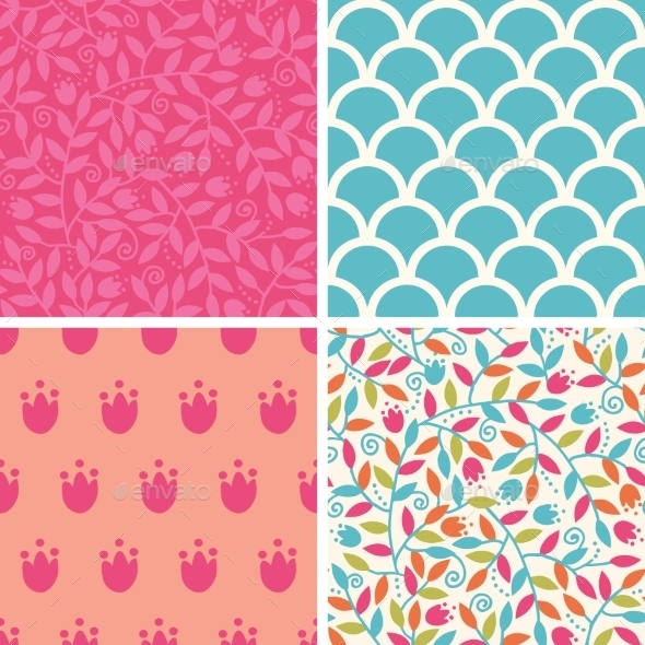 Floral Patterns  - Patterns Decorative