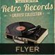 Retro Records Flyer/Poster vol 02