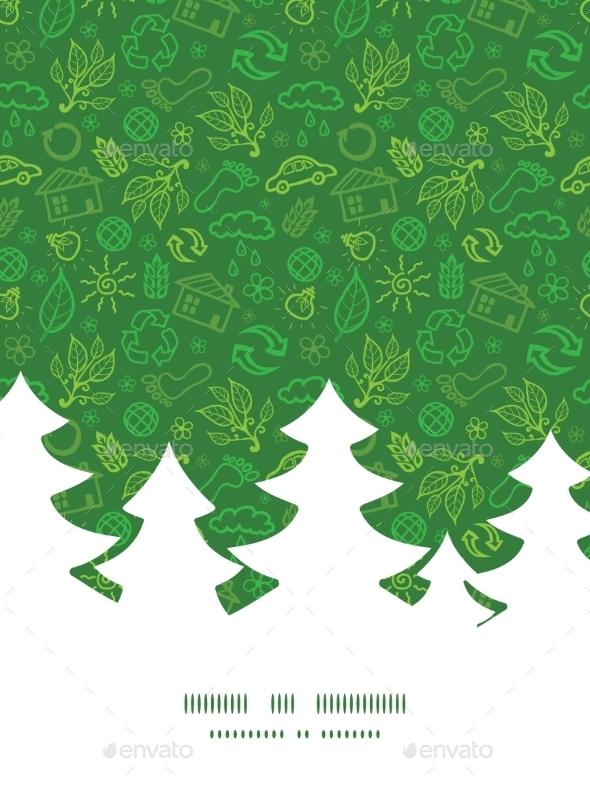 Ecology Christmas Pattern  - Christmas Seasons/Holidays