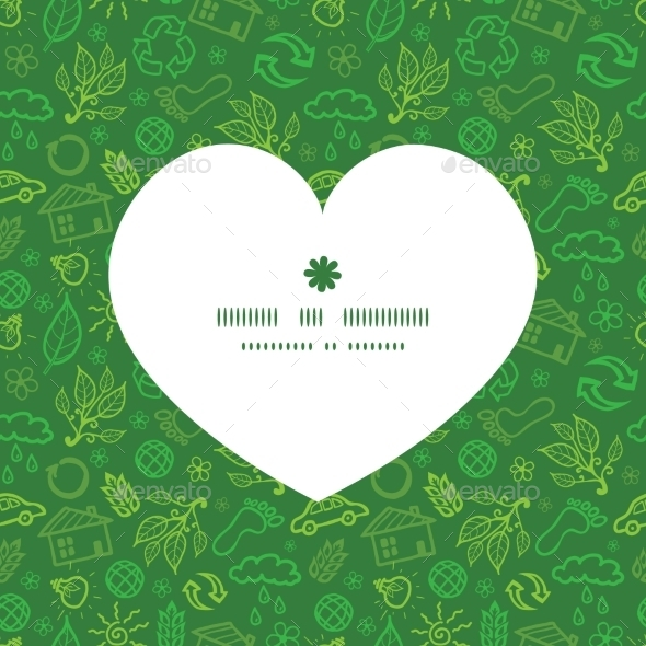 Ecology Heart  - Valentines Seasons/Holidays