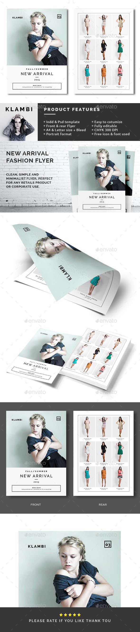 New Arrival Fashion Flyer - Commerce Flyers