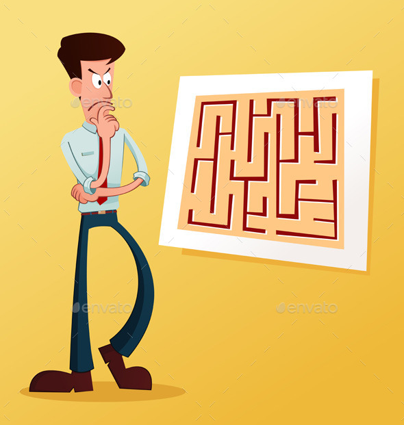 Solve The Maze - Concepts Business