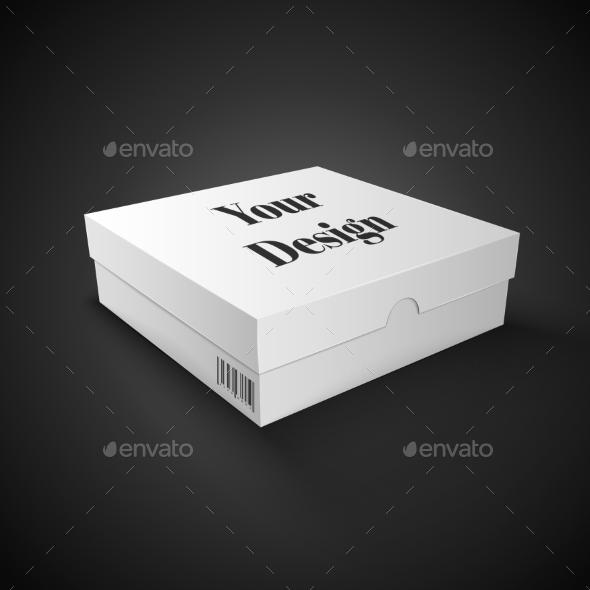 White Package Box - Retail Commercial / Shopping