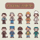 10 Professions - GraphicRiver Item for Sale