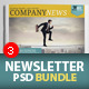 Newsletter Bundle PSD - GraphicRiver Item for Sale