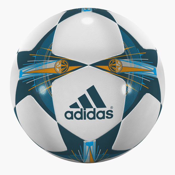 Champions League Soccer Ball - 3DOcean Item for Sale