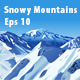 Snowy Mountains - GraphicRiver Item for Sale