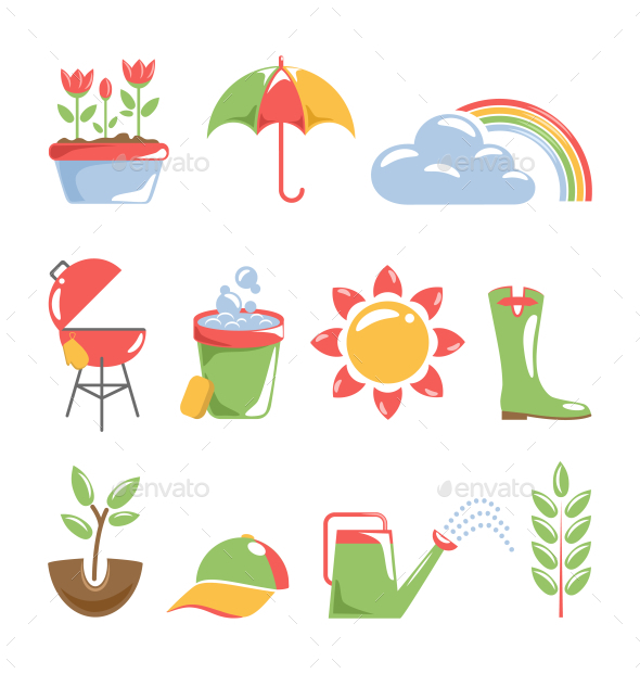 Spring Icons - Miscellaneous Vectors