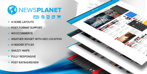 NewsPlanet – Magazine, News & Blog WordPress Theme
