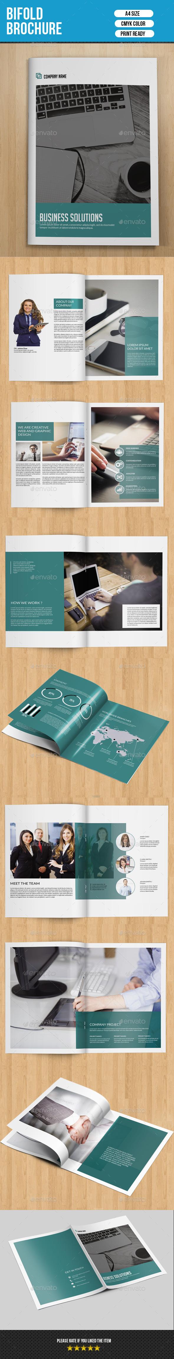 Corporate Brochure Template-V211 - Corporate Brochures