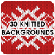 30 Knitted Backgrounds - GraphicRiver Item for Sale