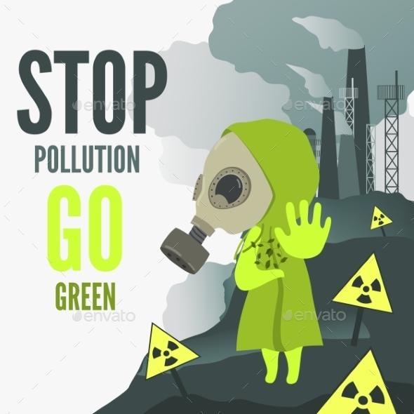 Stop Environmental Pollution - Nature Conceptual