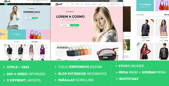 Classic – The Responsive Magento Theme