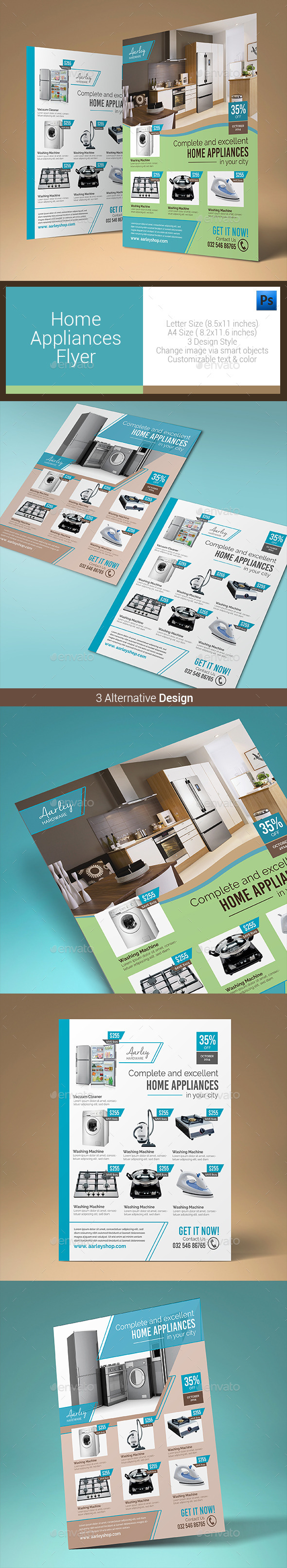 Home Appliances Flyer - Corporate Flyers