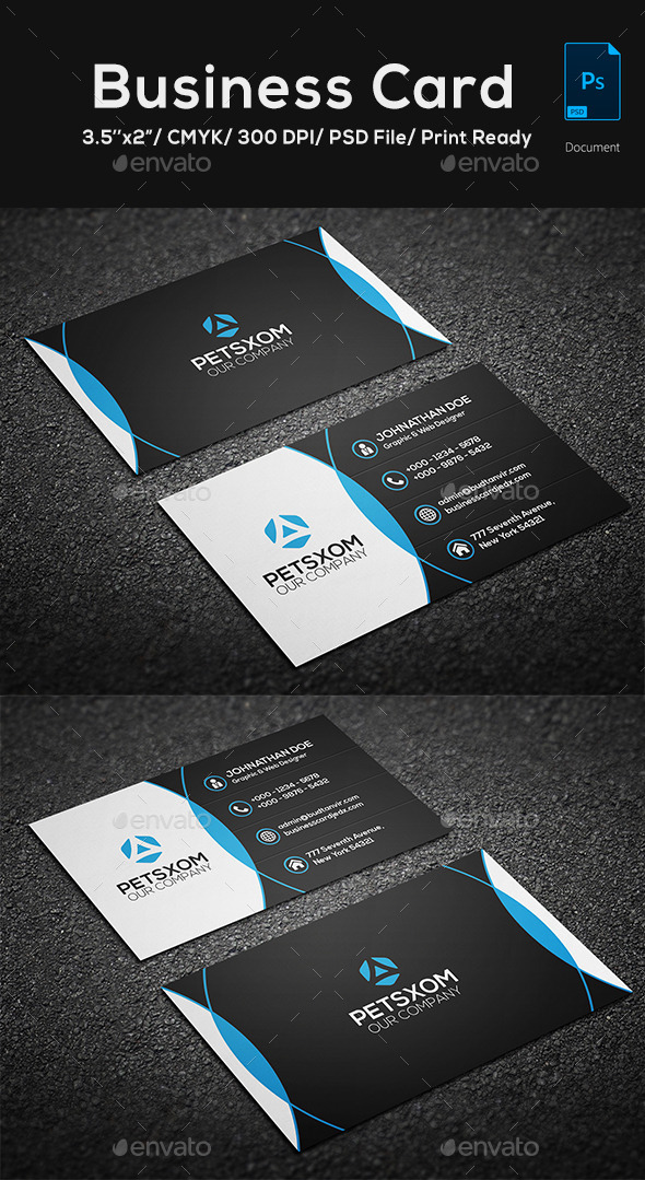 Modern Business Card Vol. 5 - Corporate Business Cards