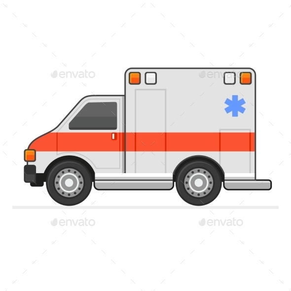 Ambulance - Health/Medicine Conceptual