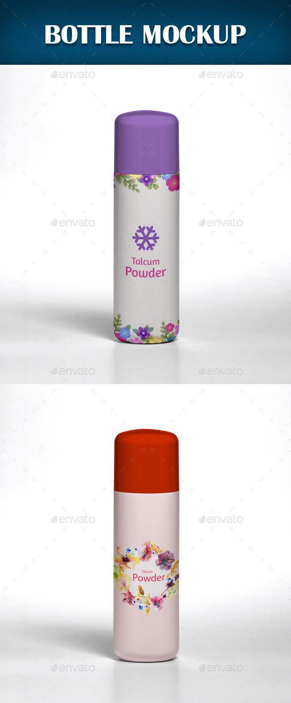 Bottle Mockup - Beauty Packaging