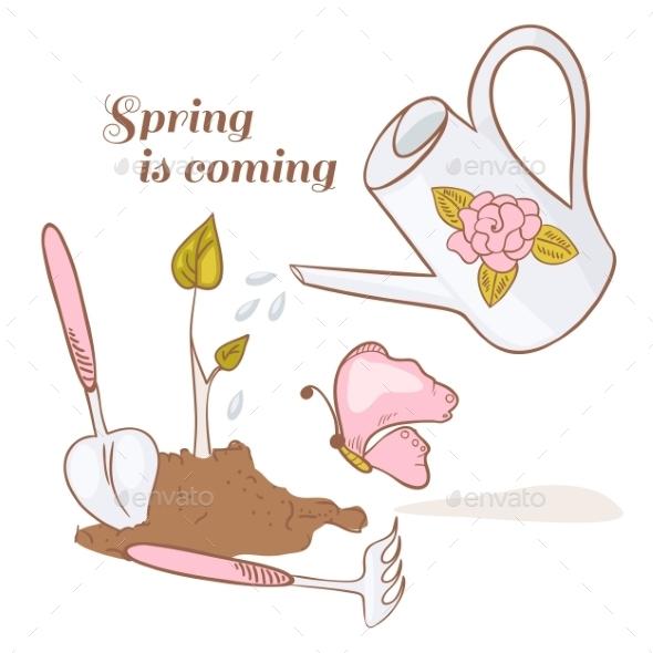 Set of Garden Tools - Seasons Nature
