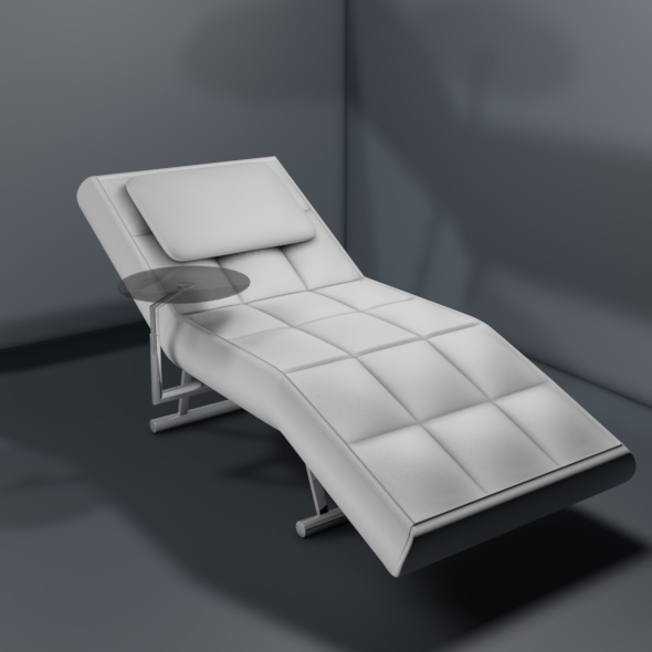 Designer Lounge Chair - 3DOcean Item for Sale