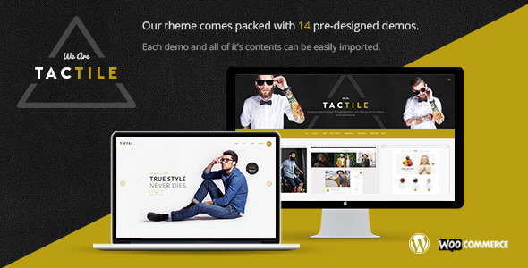 Tactile – Modern and Sharp Multi-Concept Theme - Creative WordPress