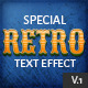 10 Retro Text Effect v.1 - GraphicRiver Item for Sale