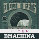 Electro Vintage Beats - Poster Template - GraphicRiver Item for Sale